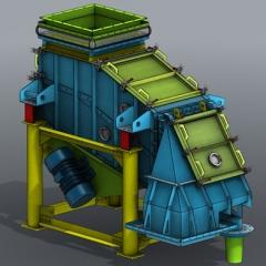 礦砂爐渣振動篩選機