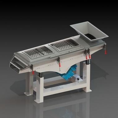 塑料零件振动除粉机